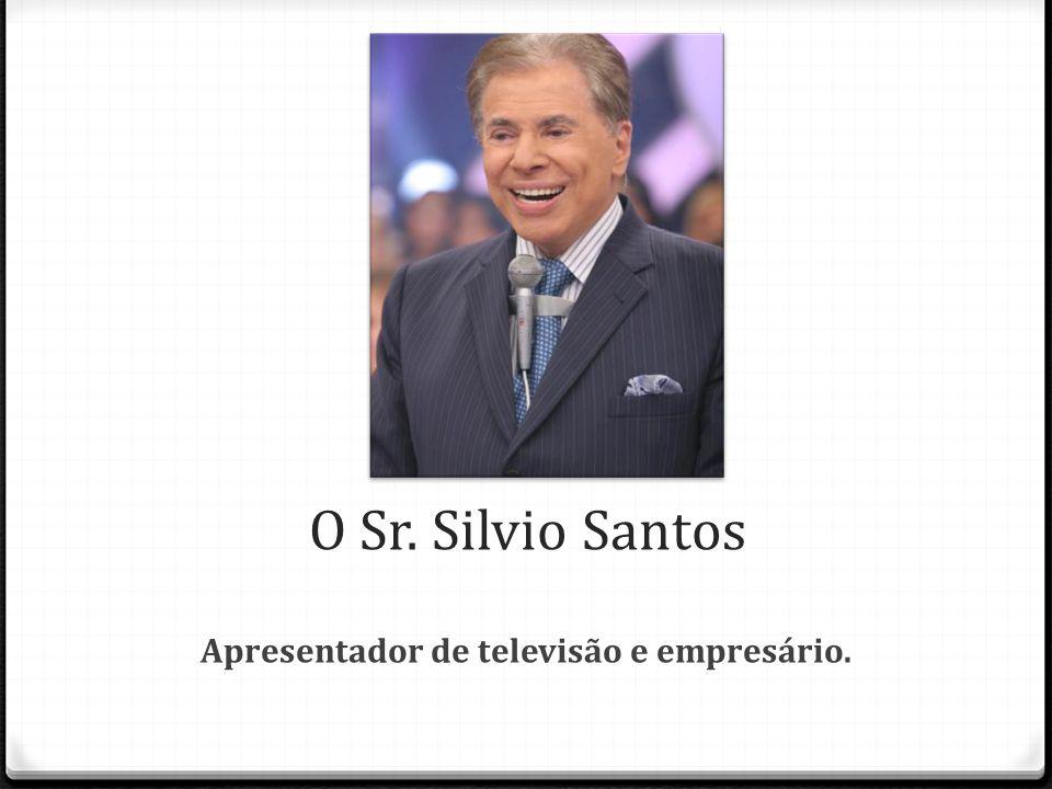 Apresentador de televisão e empresário.