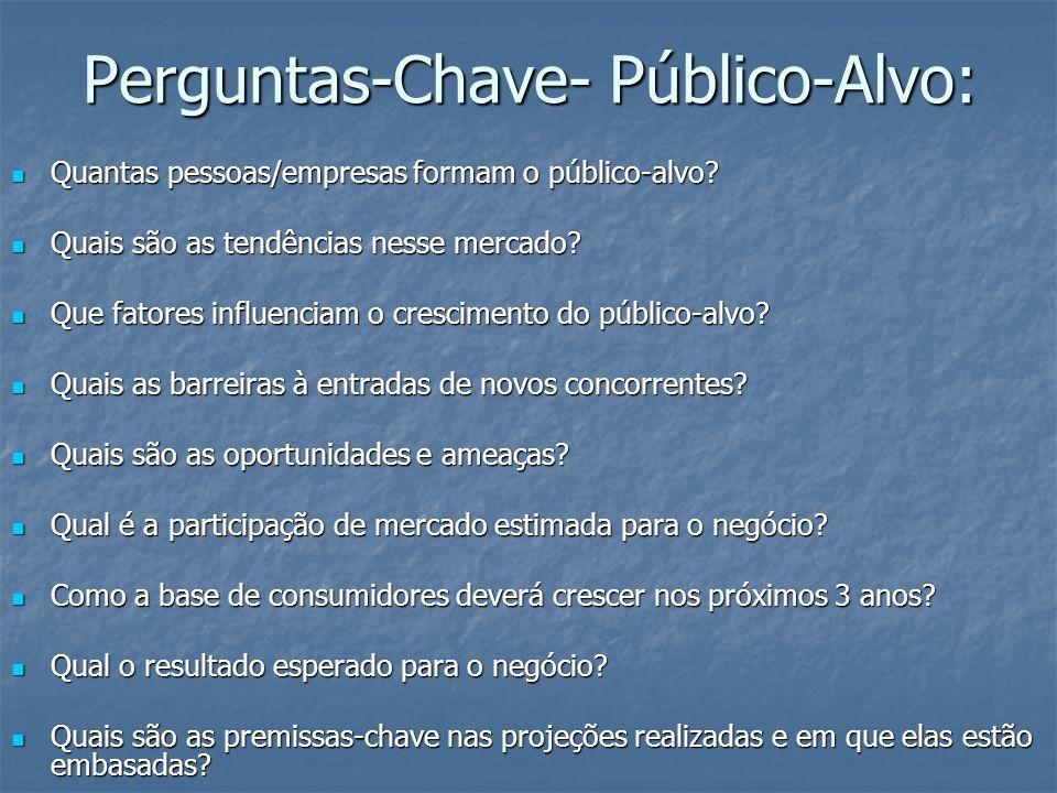 Perguntas-Chave- Público-Alvo: