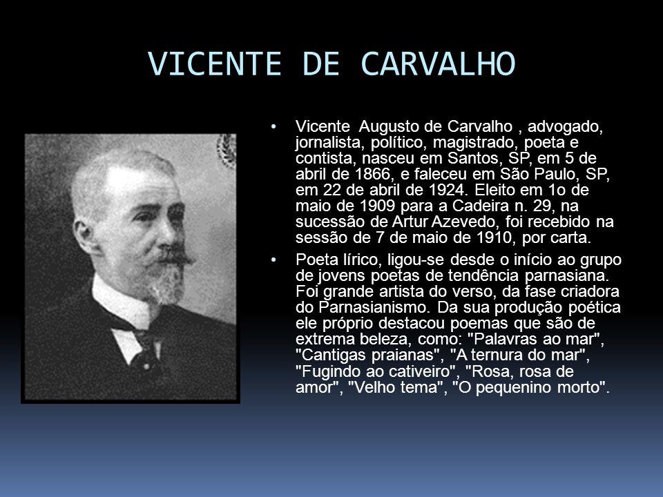 VICENTE DE CARVALHO