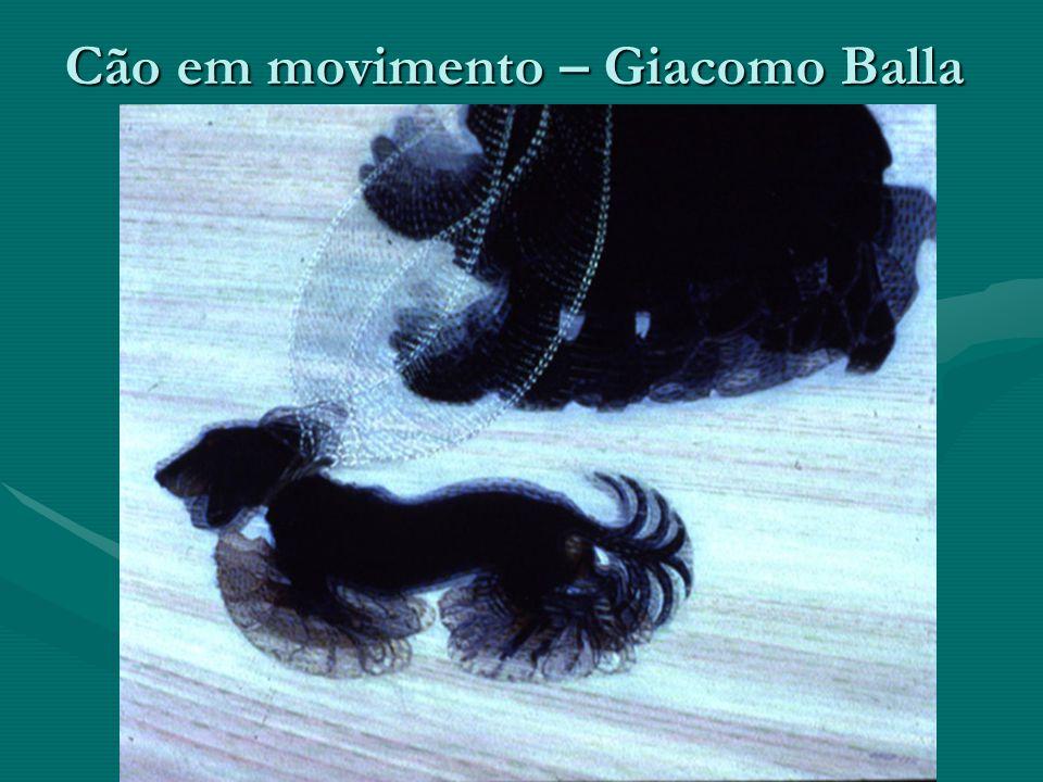 Cão em movimento – Giacomo Balla
