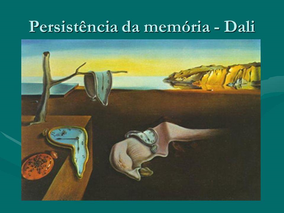 Persistência da memória - Dali