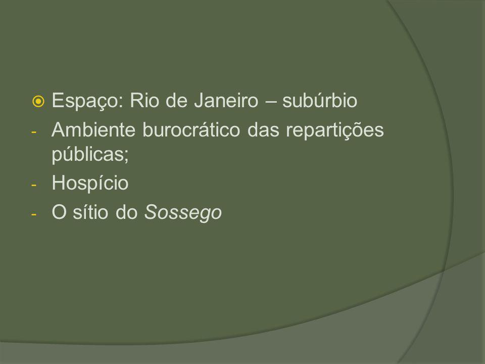 Espaço: Rio de Janeiro – subúrbio