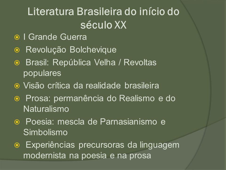 Literatura Brasileira do início do século XX