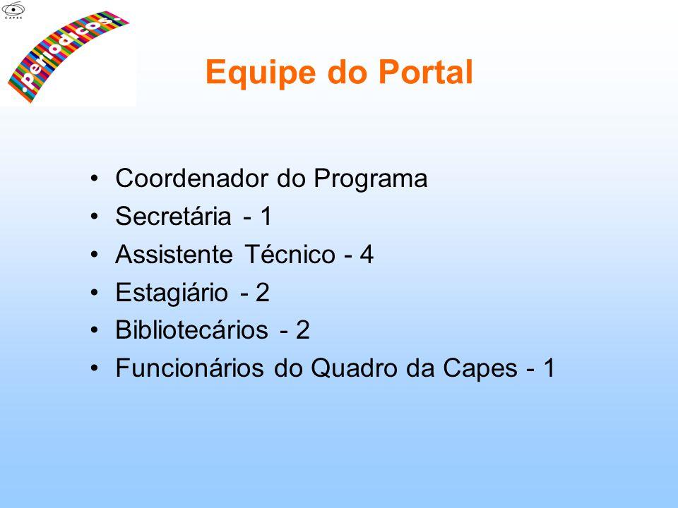 Equipe do Portal Coordenador do Programa Secretária - 1
