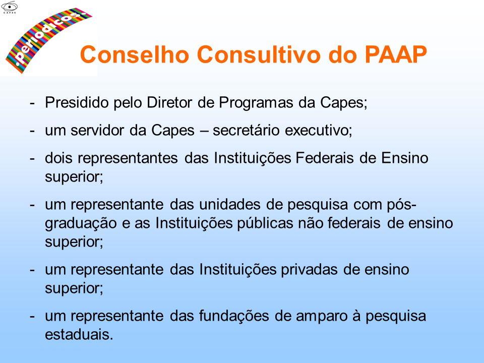 Conselho Consultivo do PAAP
