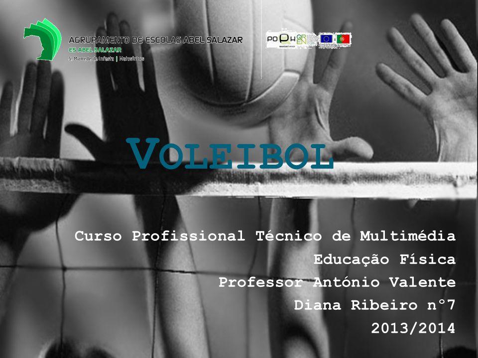Voleibol Curso Profissional Técnico de Multimédia Educação Física