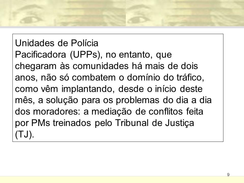 Unidades de Polícia