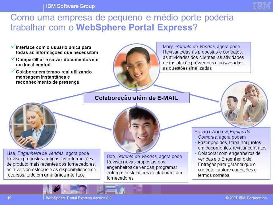 Colaboração além de E-MAIL