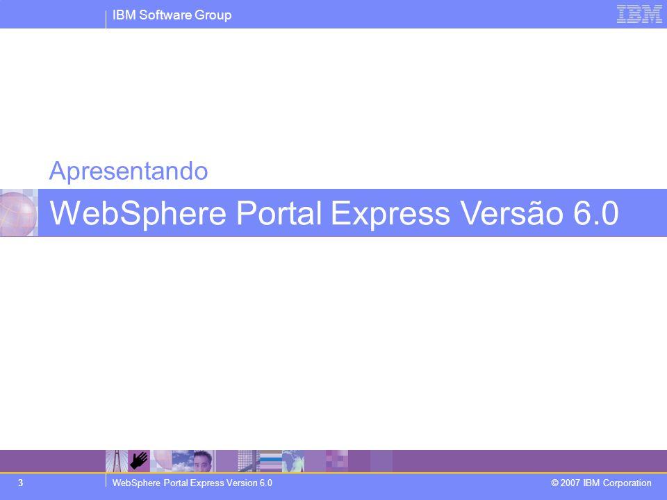 WebSphere Portal Express Versão 6.0