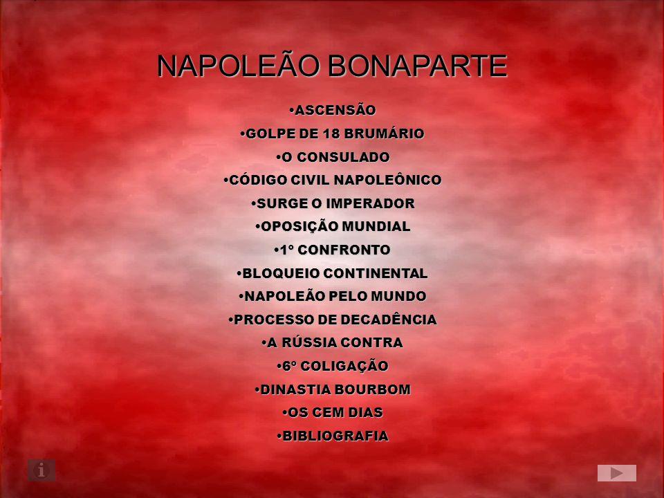 NAPOLEÃO BONAPARTE ASCENSÃO GOLPE DE 18 BRUMÁRIO O CONSULADO