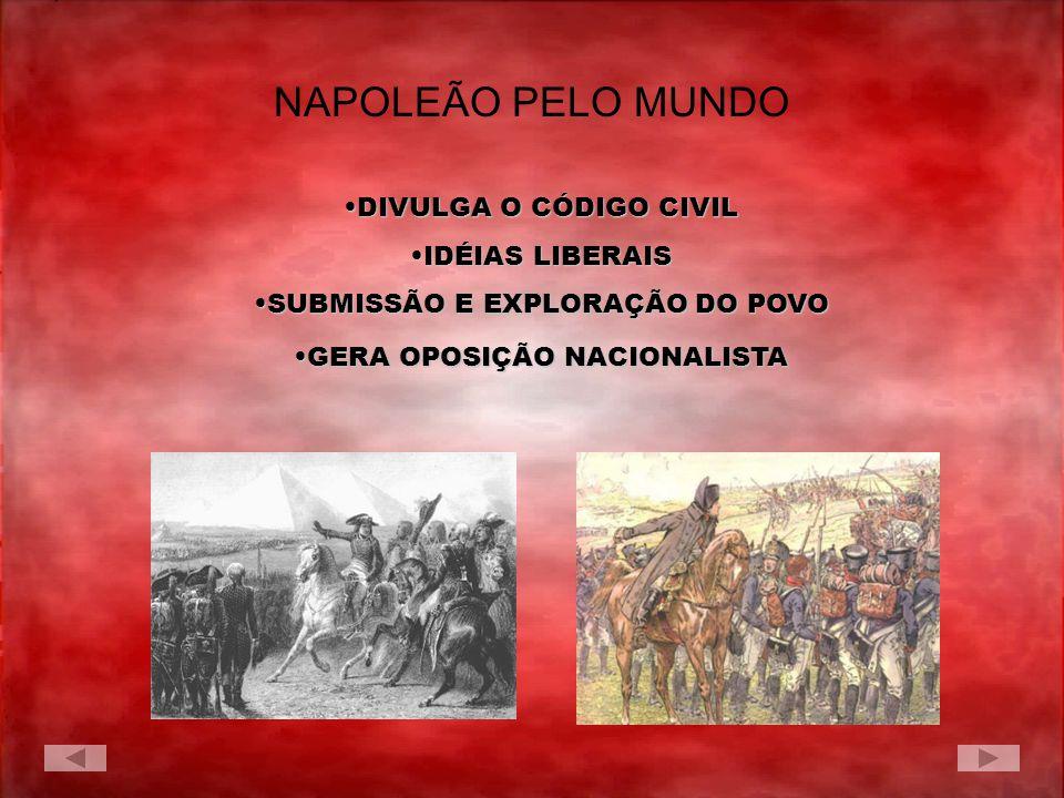 NAPOLEÃO PELO MUNDO DIVULGA O CÓDIGO CIVIL IDÉIAS LIBERAIS