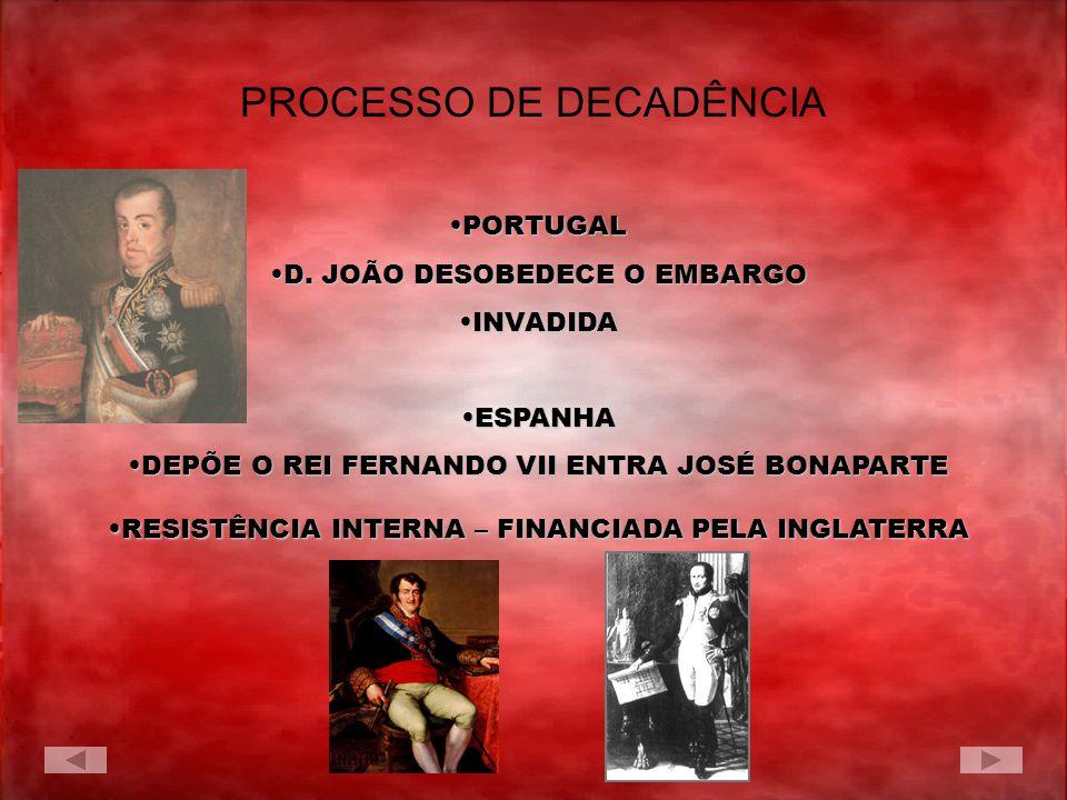 PROCESSO DE DECADÊNCIA