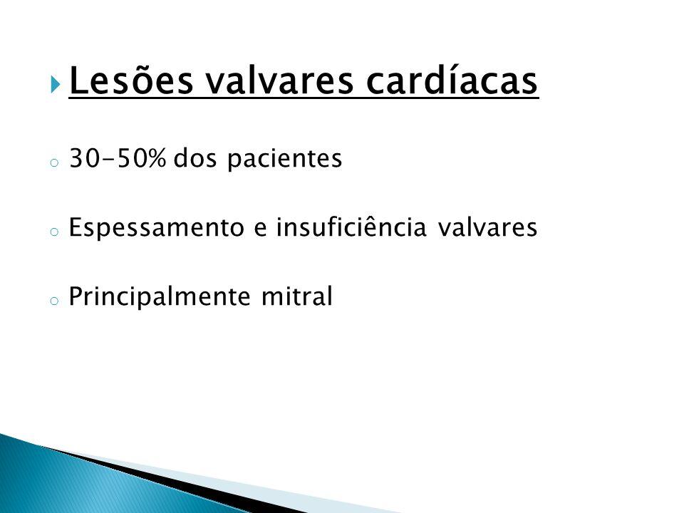 Lesões valvares cardíacas