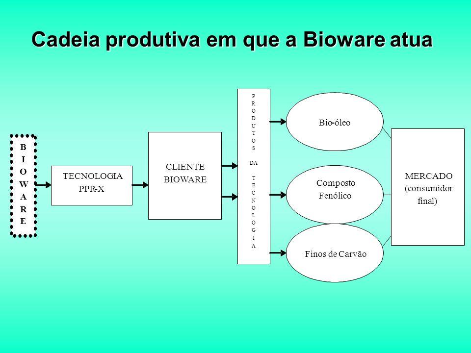 Cadeia produtiva em que a Bioware atua