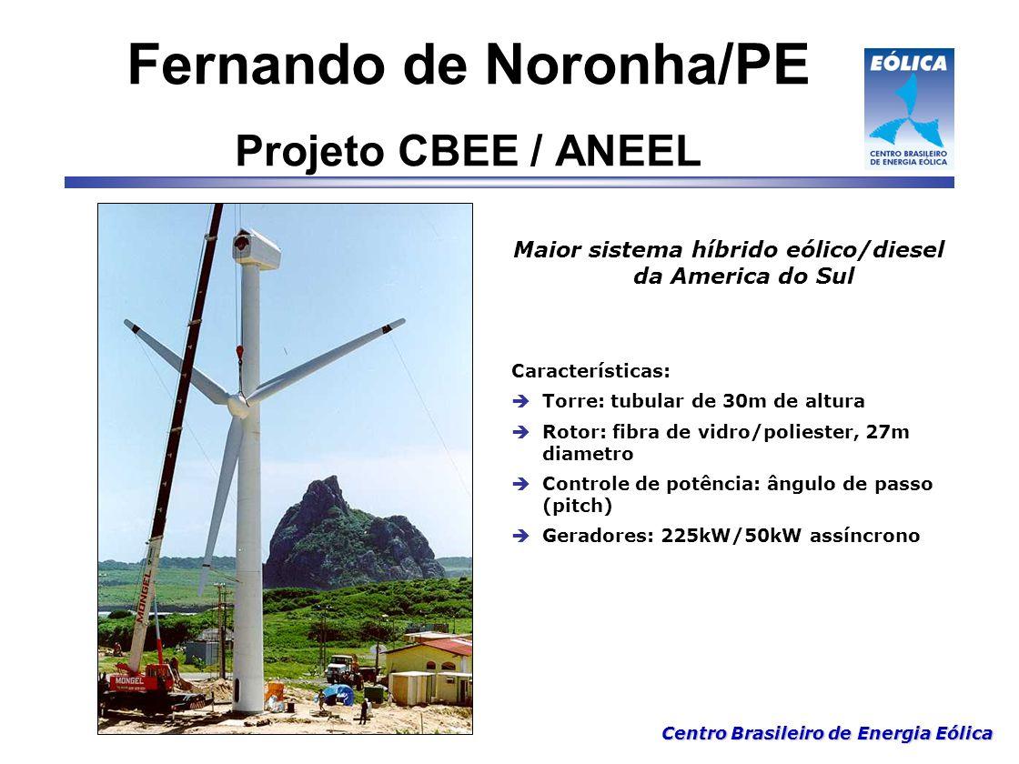 Fernando de Noronha/PE Projeto CBEE / ANEEL