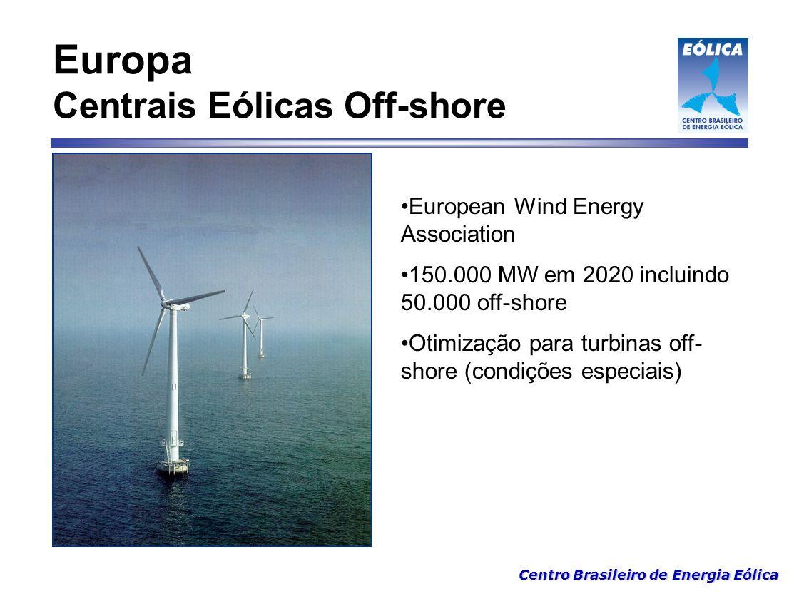 Europa Centrais Eólicas Off-shore