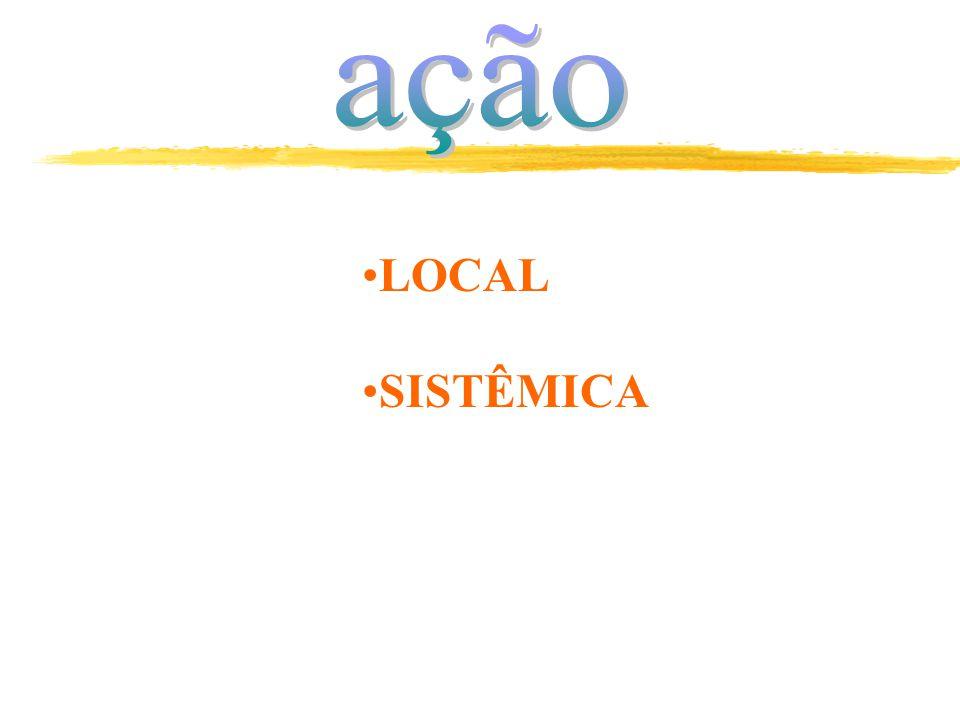 ação LOCAL SISTÊMICA