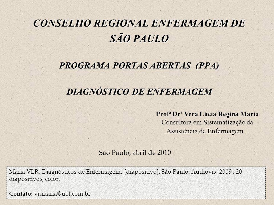 CONSELHO REGIONAL ENFERMAGEM DE SÃO PAULO