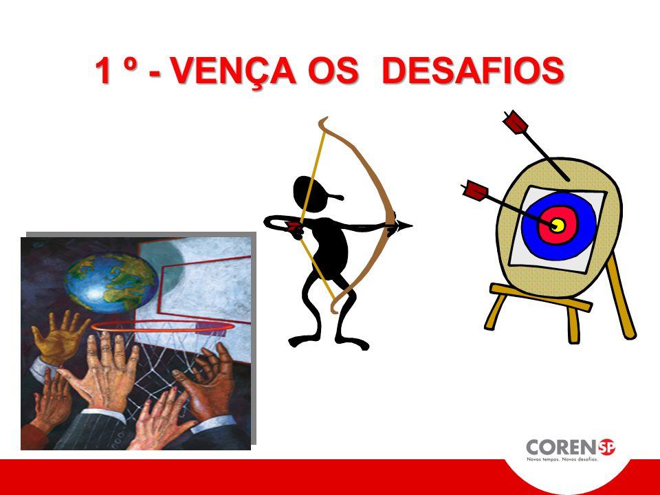 1 º - VENÇA OS DESAFIOS