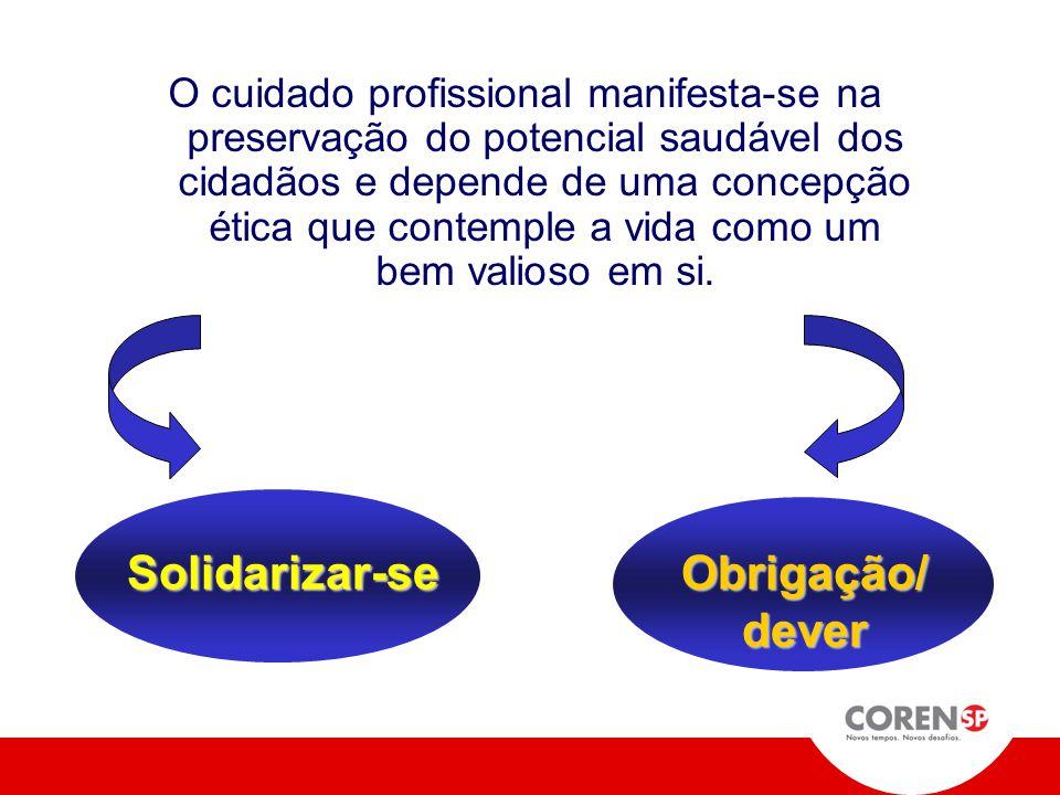 Solidarizar-se Obrigação/ dever