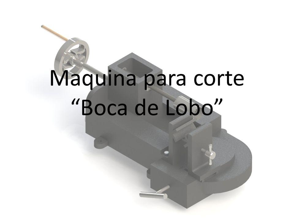 Maquina para corte Boca de Lobo