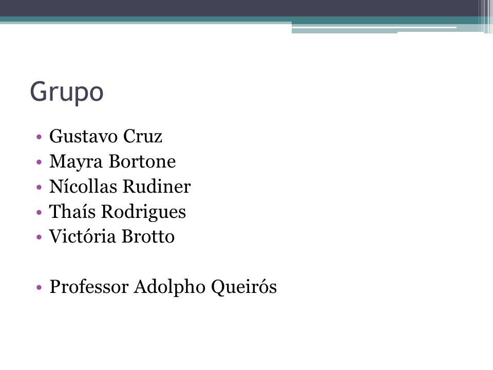 Grupo Gustavo Cruz Mayra Bortone Nícollas Rudiner Thaís Rodrigues