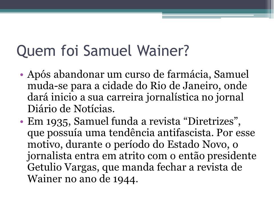 Quem foi Samuel Wainer