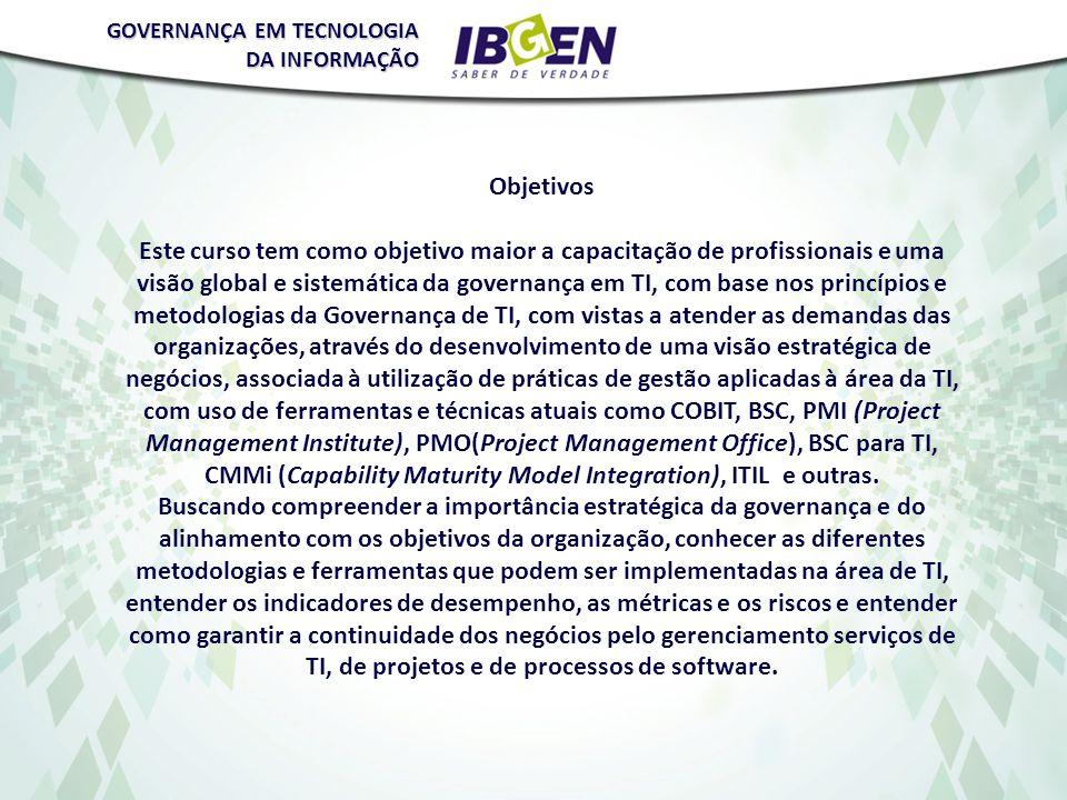 GOVERNANÇA EM TECNOLOGIA