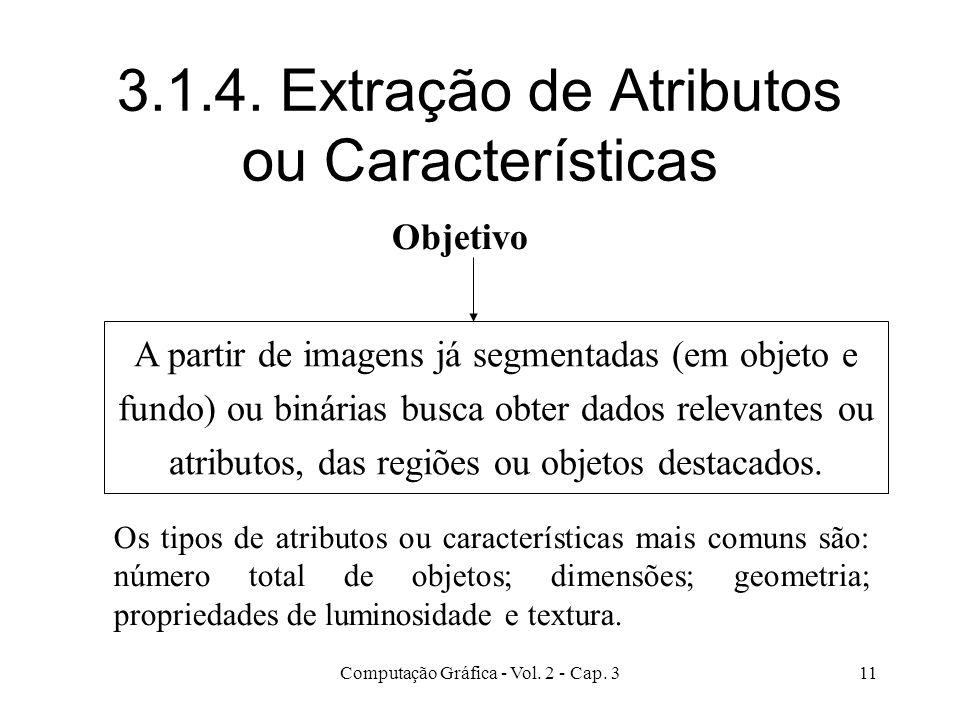 3.1.4. Extração de Atributos ou Características
