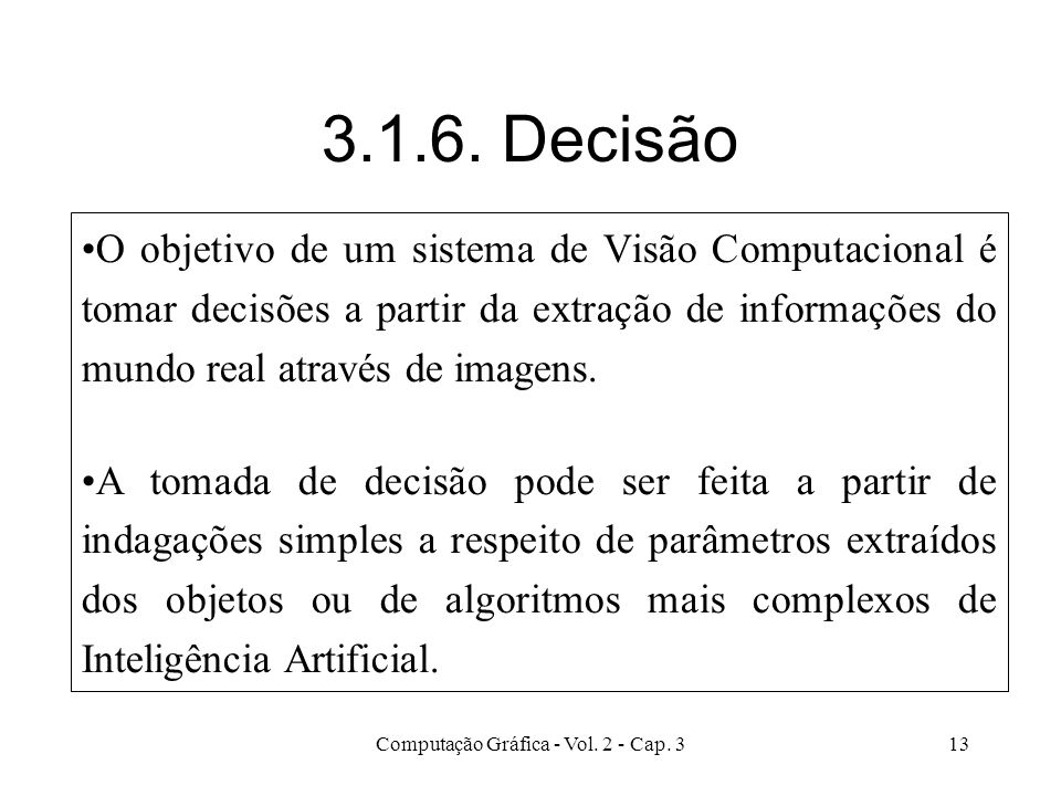 Computação Gráfica - Vol. 2 - Cap. 3