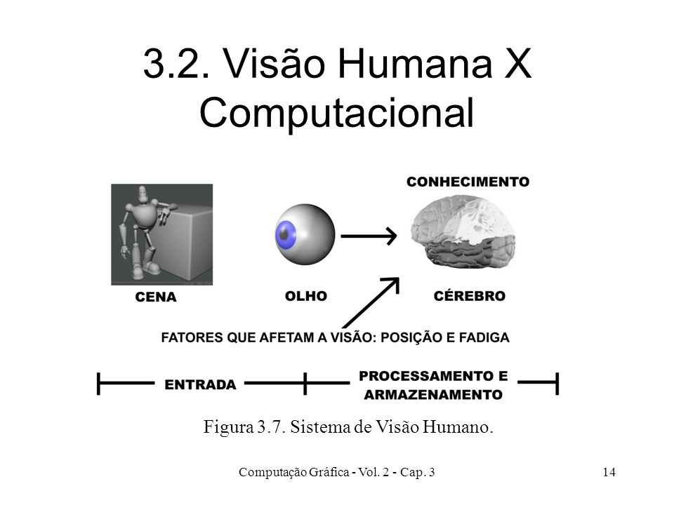 3.2. Visão Humana X Computacional