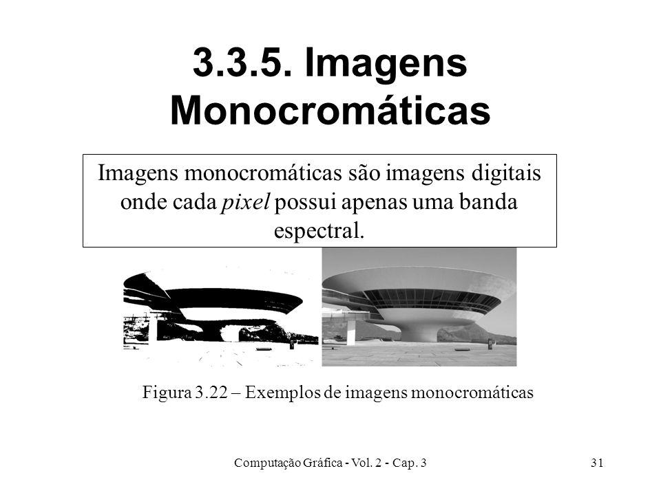 3.3.5. Imagens Monocromáticas
