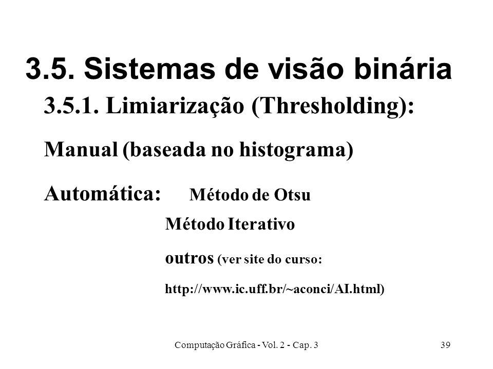 3.5. Sistemas de visão binária