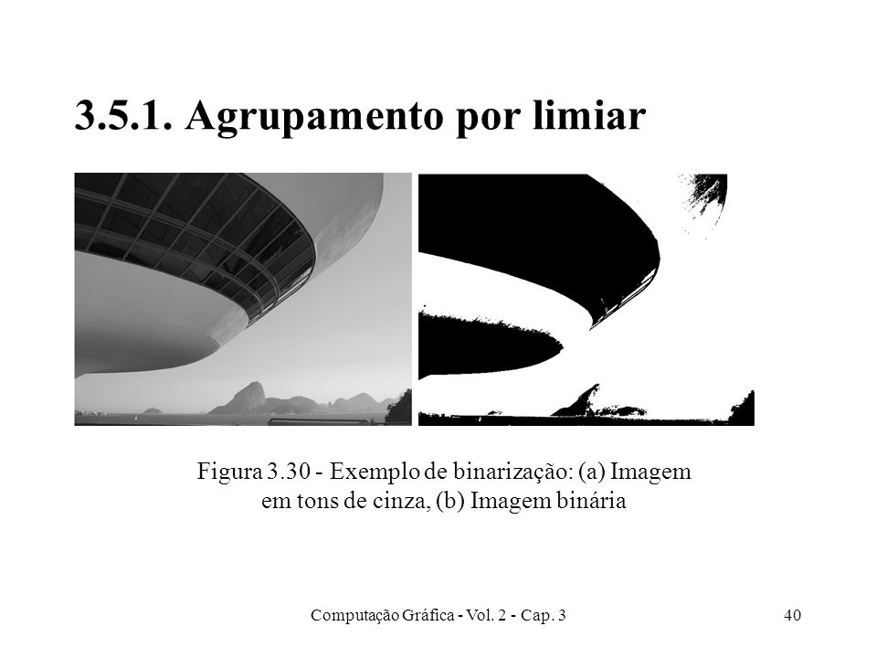 3.5.1. Agrupamento por limiar