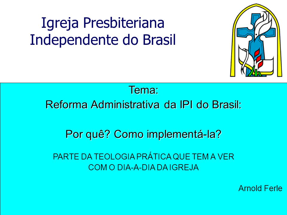 Reforma Administrativa da IPI do Brasil: Por quê Como implementá-la