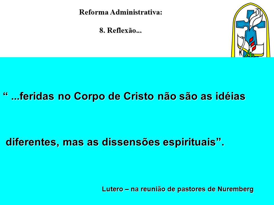 Reforma Administrativa: 8. Reflexão...