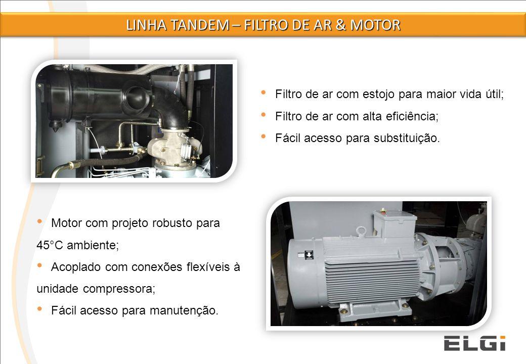 Linha tandem – FILTRO DE AR & MOTOR