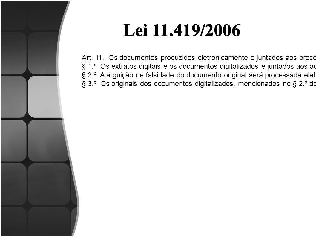Lei 11.419/2006