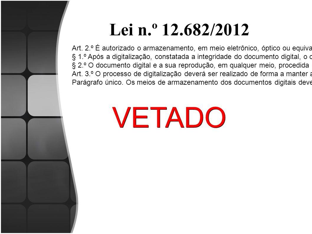 Lei n.º 12.682/2012