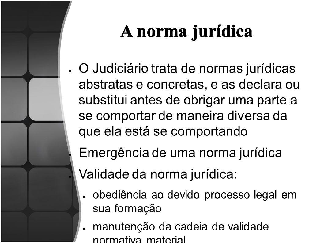 A norma jurídica