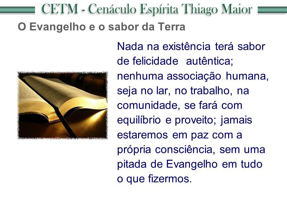 O Evangelho e o sabor da Terra