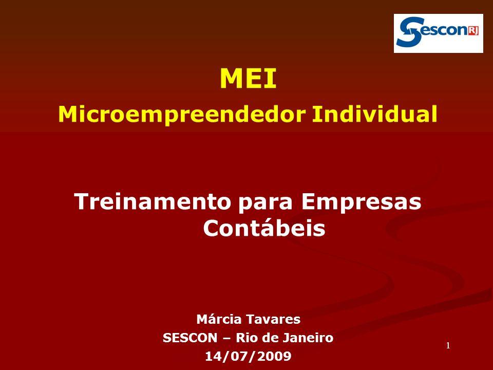 Microempreendedor Individual Treinamento para Empresas Contábeis