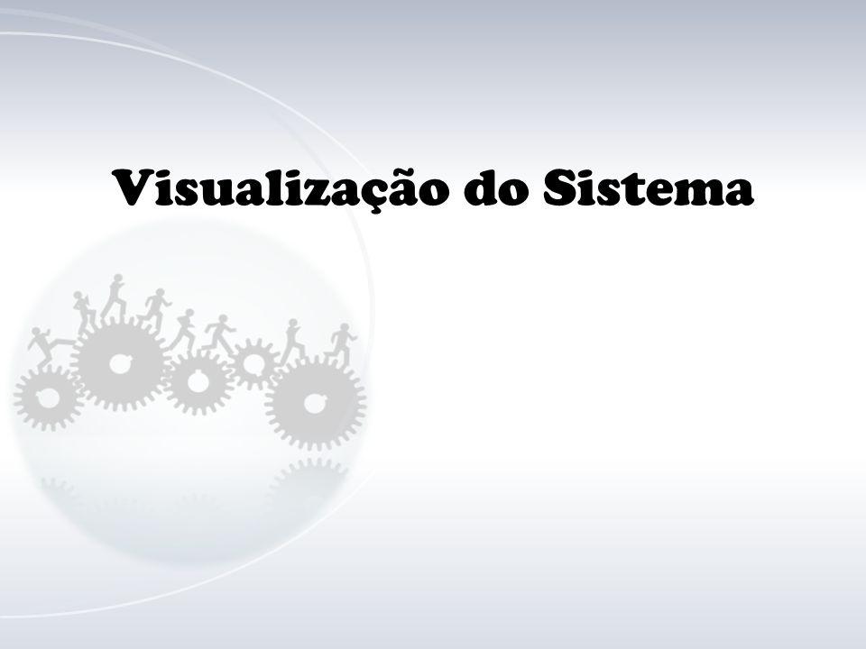 Visualização do Sistema