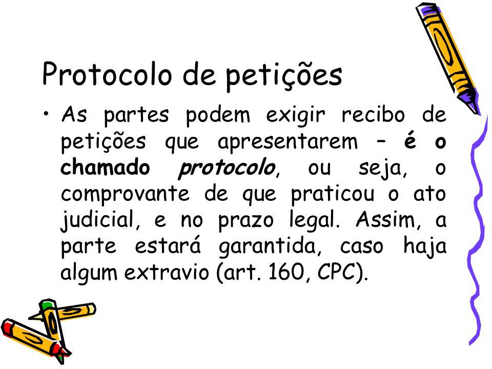 Protocolo de petições