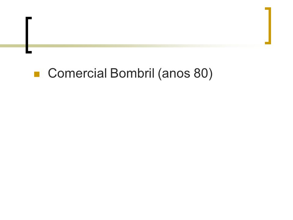 Comercial Bombril (anos 80)