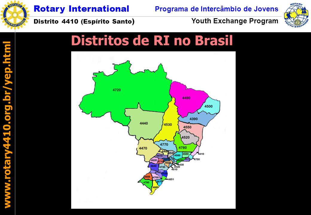 Distritos de RI no Brasil