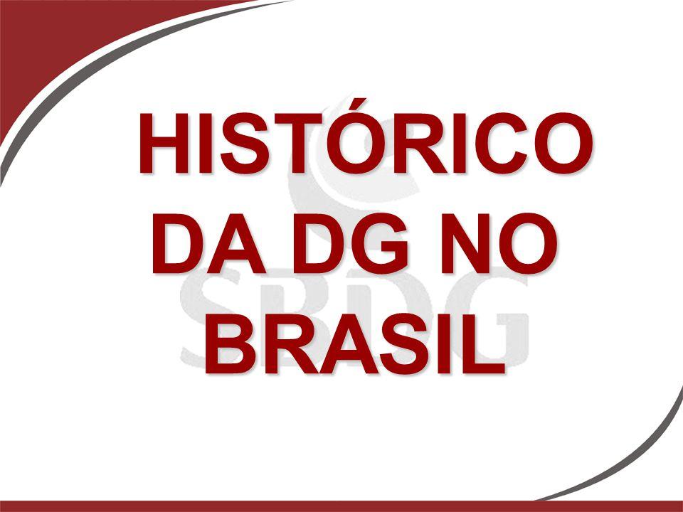 HISTÓRICO DA DG NO BRASIL