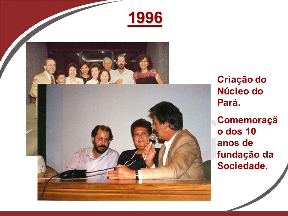 1996 Criação do Núcleo do Pará.