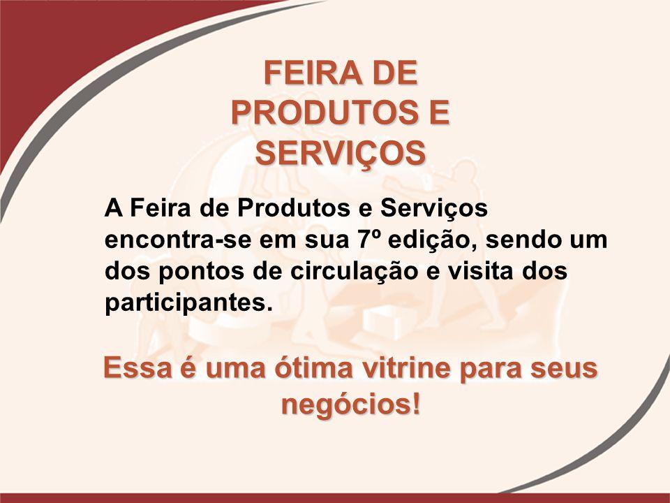 FEIRA DE PRODUTOS E SERVIÇOS