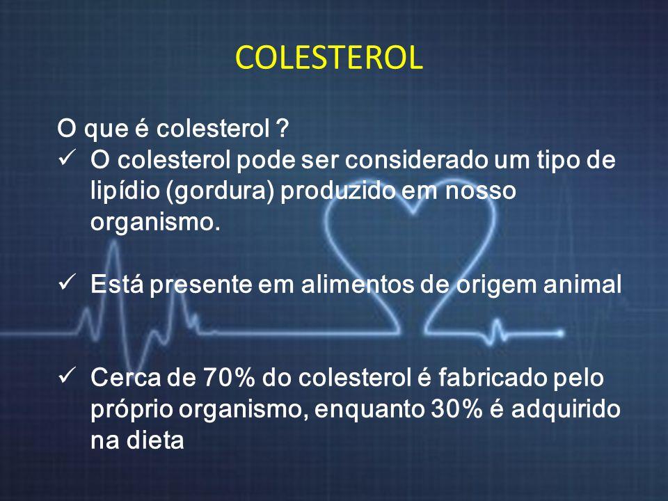 COLESTEROL O que é colesterol